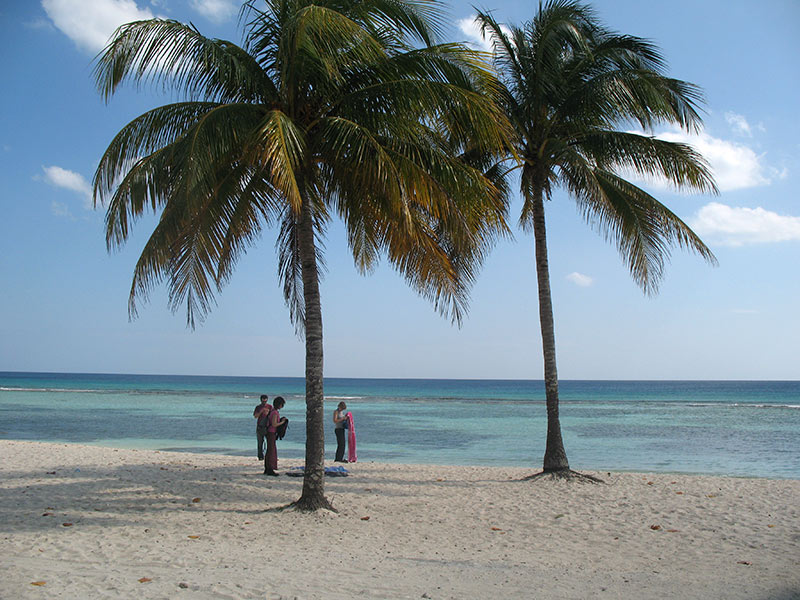 playa giron, spiaggia