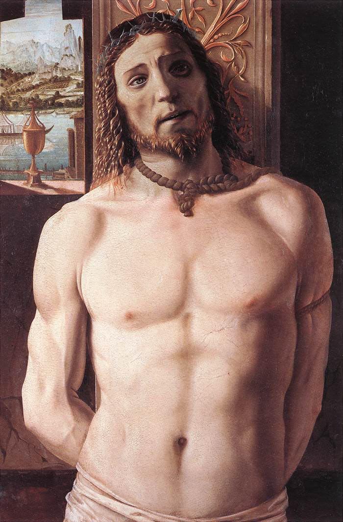 Cristo alla colonna, Bramante - Pinacoteca di Brera, Milano
