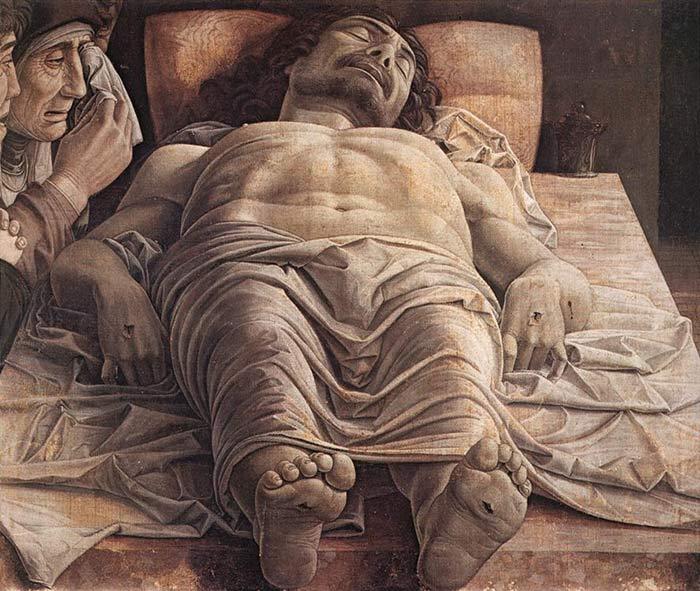 Cristo Morto di Andrea Mantegna - Pinacoteca di Brera, Milano