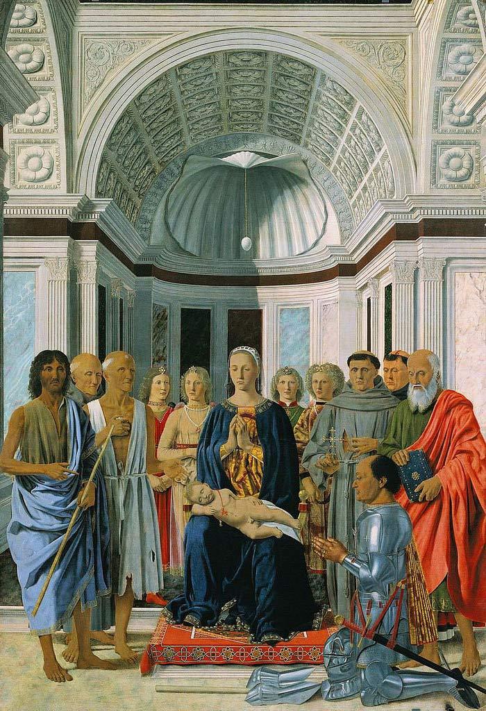 Pala di Brera di Piero della Francesca (1472) - Pinacoteca di Brera, Milano