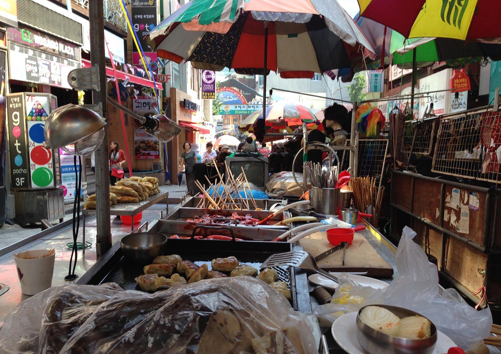 Corea del Sud, street-food