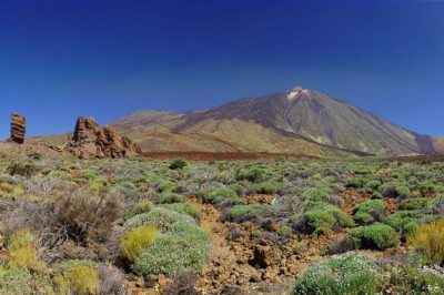 Tenerife, Vista del Teide