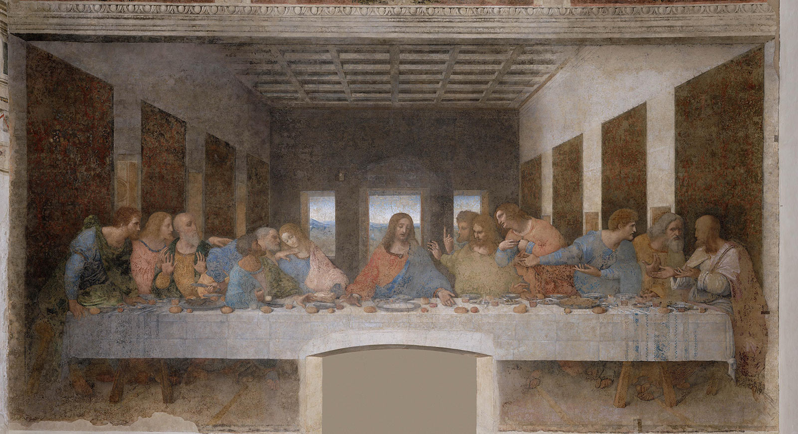 Ultima Cena di Leonardo da Vinci (1495-1498)