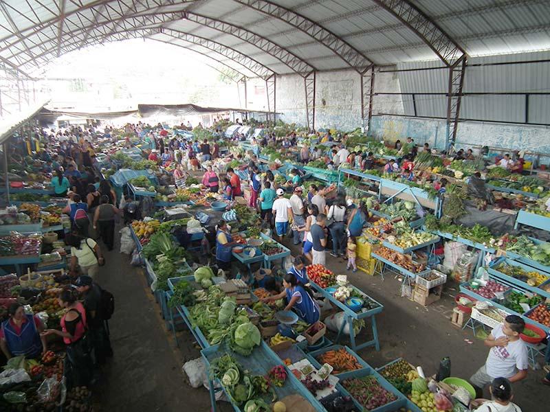 Mercato di Puyo, Ecuador