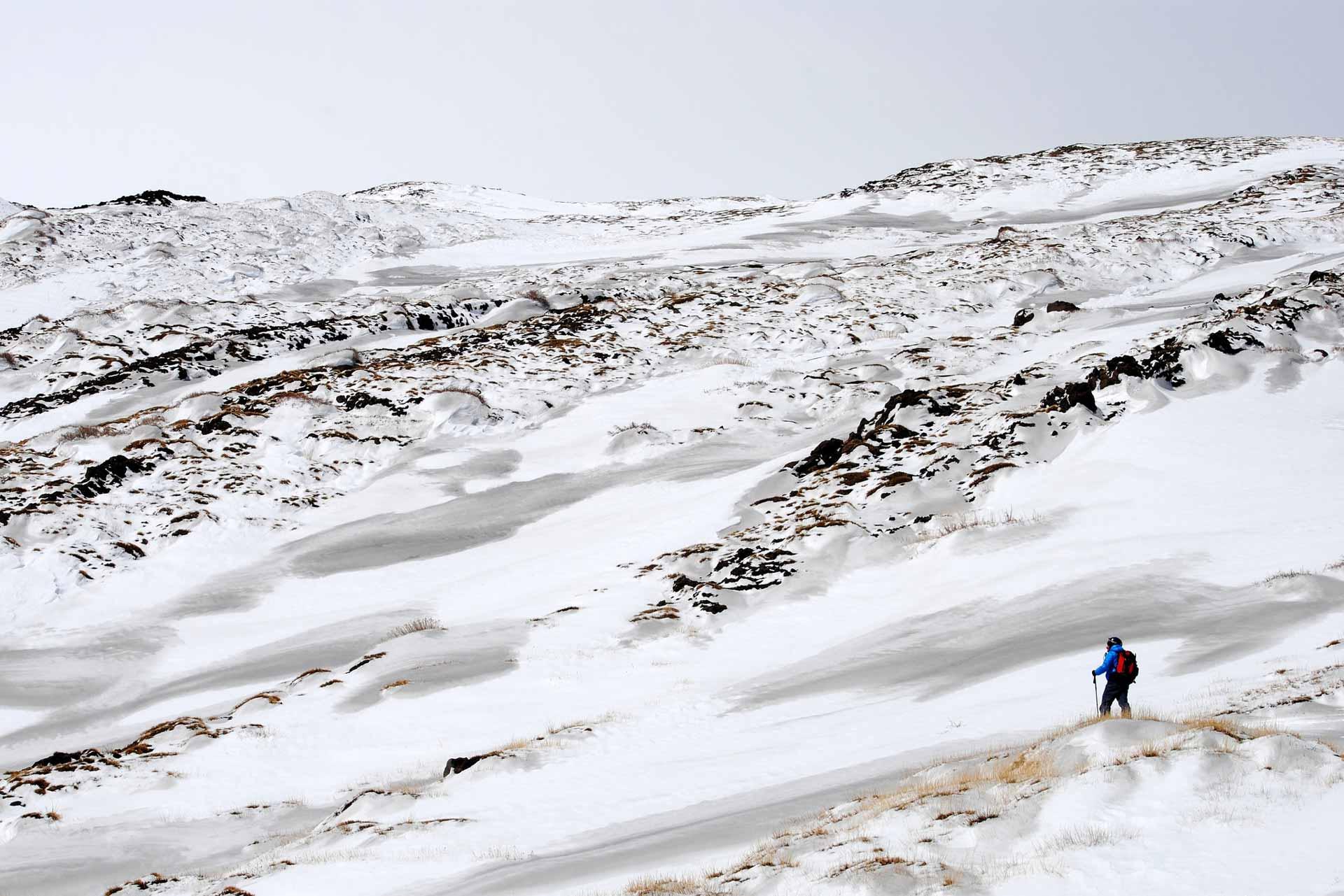 etna in inverno- ciaspolate sul vulcano
