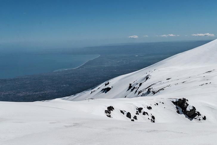 ciaspolate sull'Etna