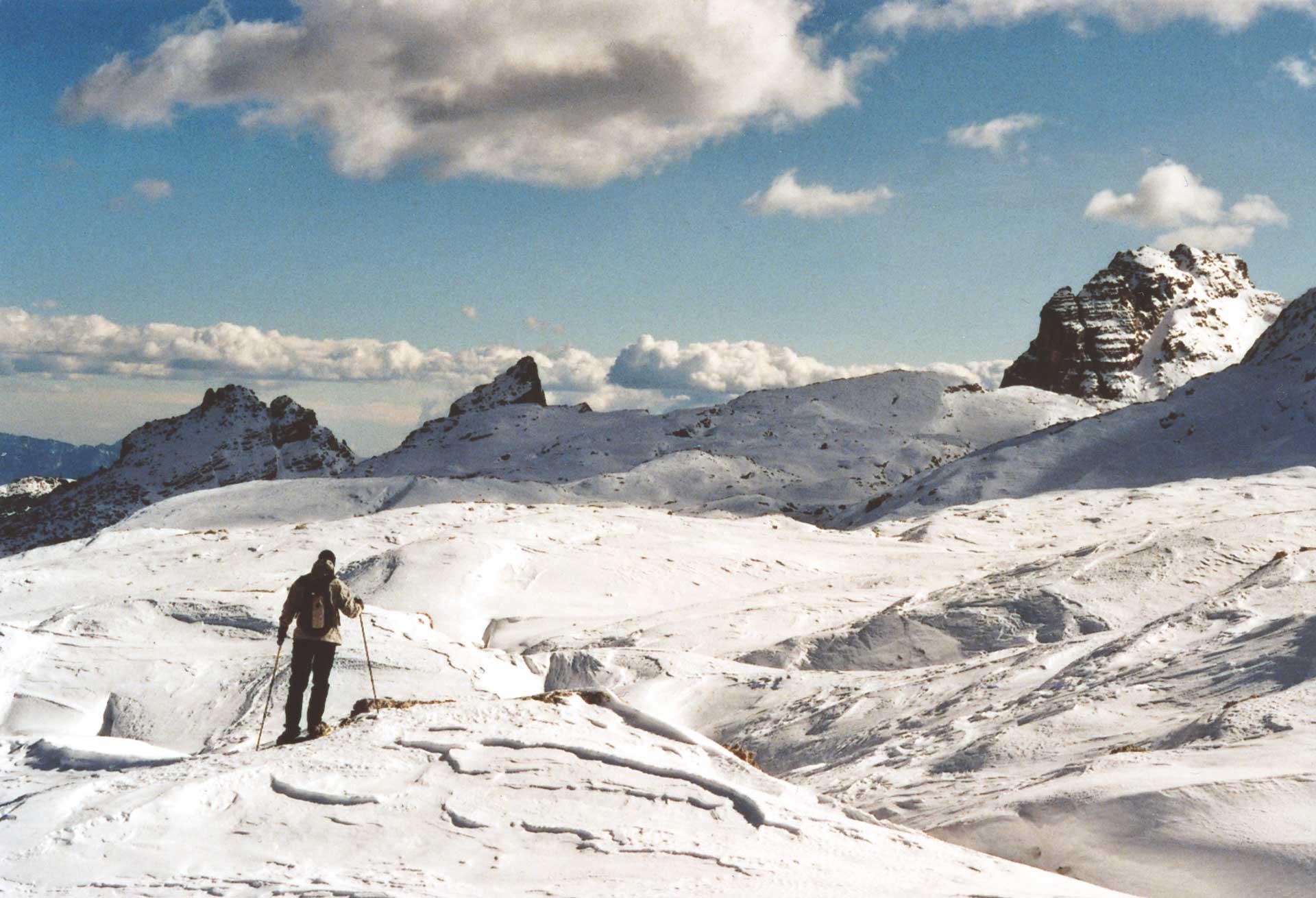 sciare in Trentino