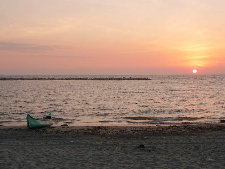 jambeli, tramonto