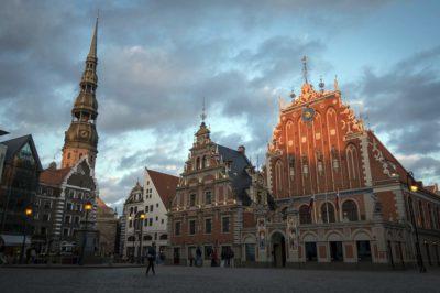 Riga, capitale della Lettonia