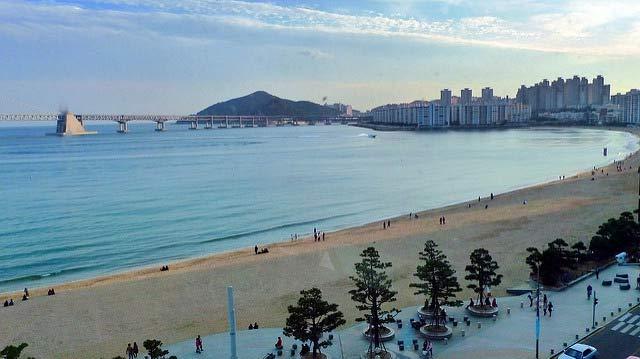 Busan, spiaggia