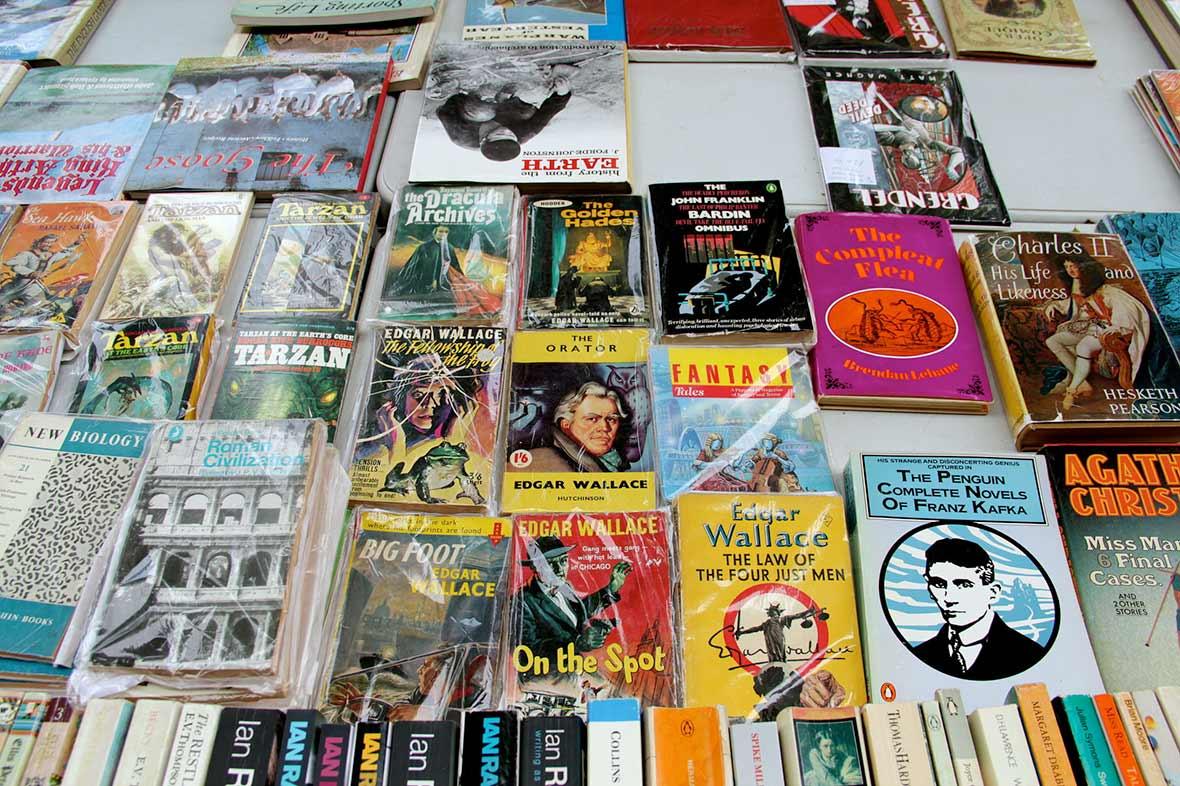 Southbank Book Market, Londra
