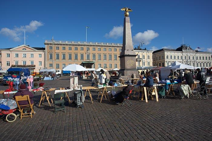 helsinki piazza del mercato