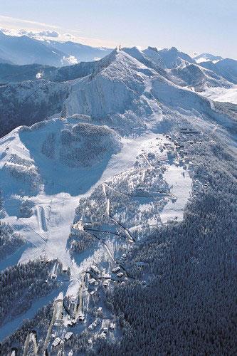 Monte Bondone d'inverno