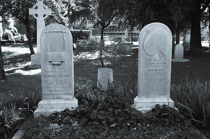 roma, cimitero inglesi