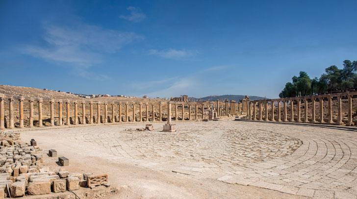 Jerash cosa vedere