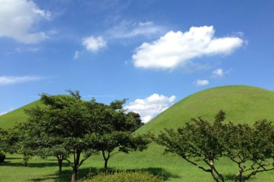 Gyeongju, Parco dei Tumuli