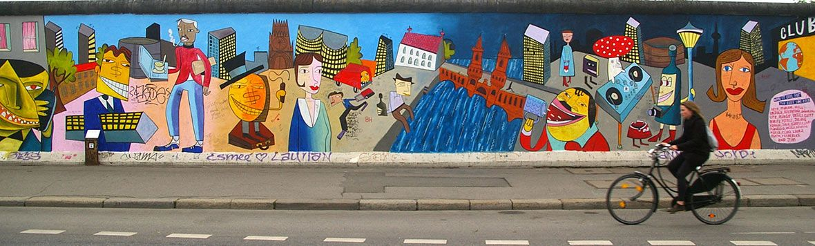 Berlino. Muro East Side Gallery