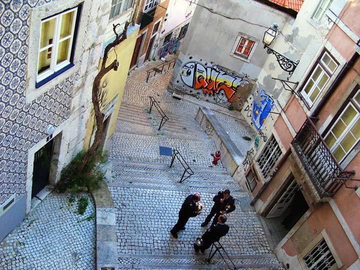 Lisbona. Alfama.