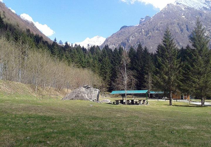 Campeggio Lo Scoiattolo - Val Masino