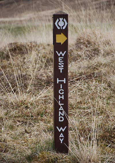 West Highland Way, Scozia