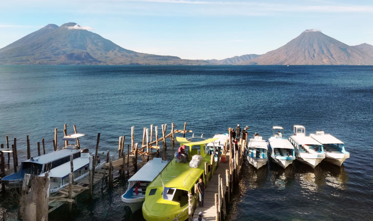 Lago Atitlan da Panajachel