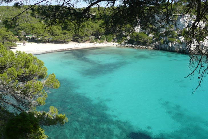 spiagge Minorca, cala Macarelleta
