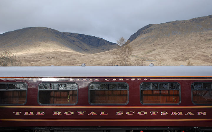 Treno Glasgow - Fort William