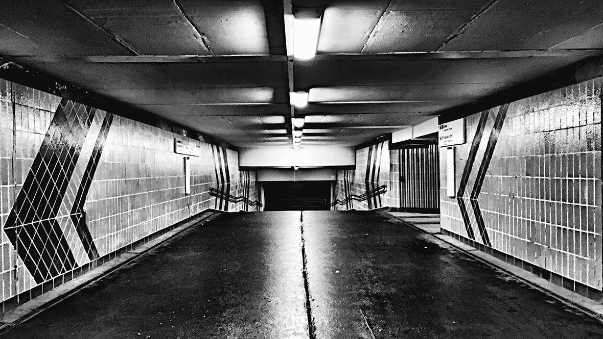 Notte dark Berlino