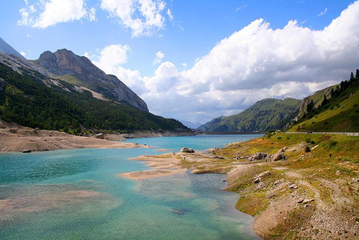 Val di Fassa - lago Fedaia