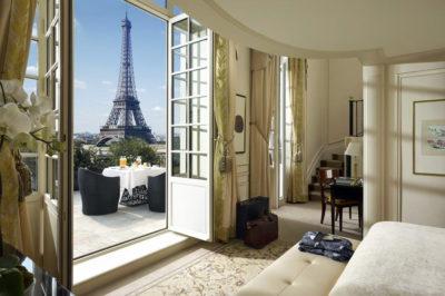 Dormire a Parigi. Shangri-La Hotel