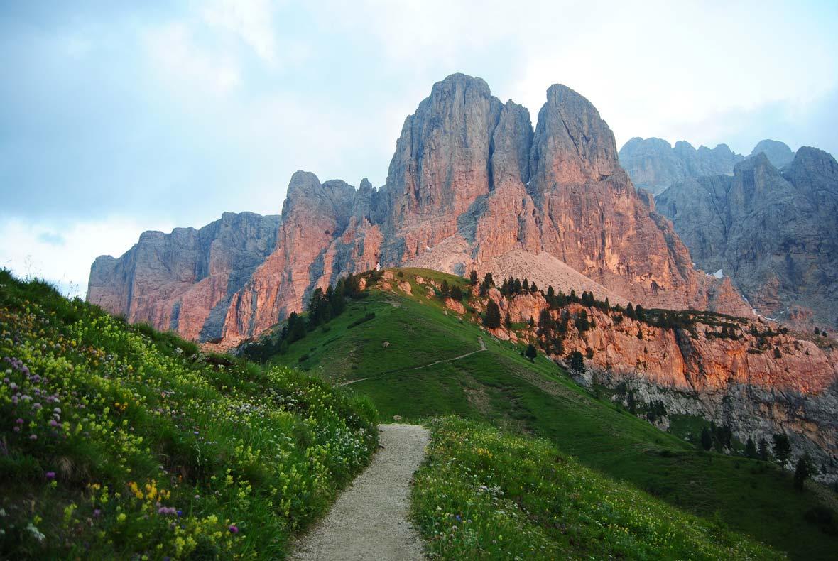 Val di Fassa, cinque passi