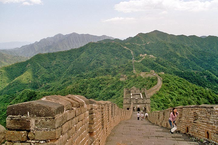 Grande Muraglia, Mutianyu Cina