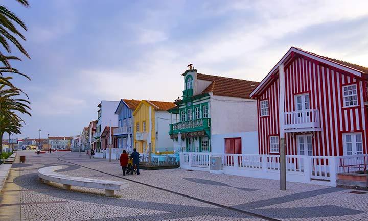 Costa Nova, Portogallo