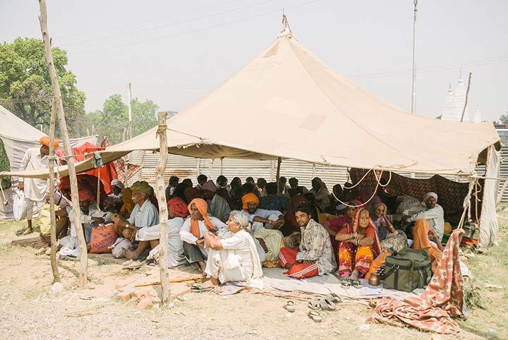 Pellegrini al Kumbh Mela, India del Nord