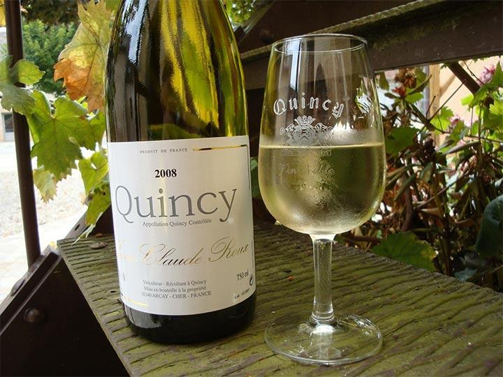 Vino bianco della Loira, Quincy