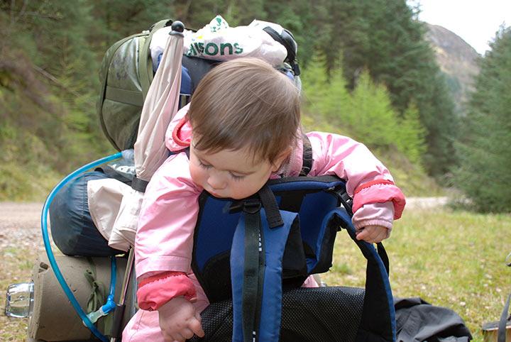 trekking scozia whw bambini