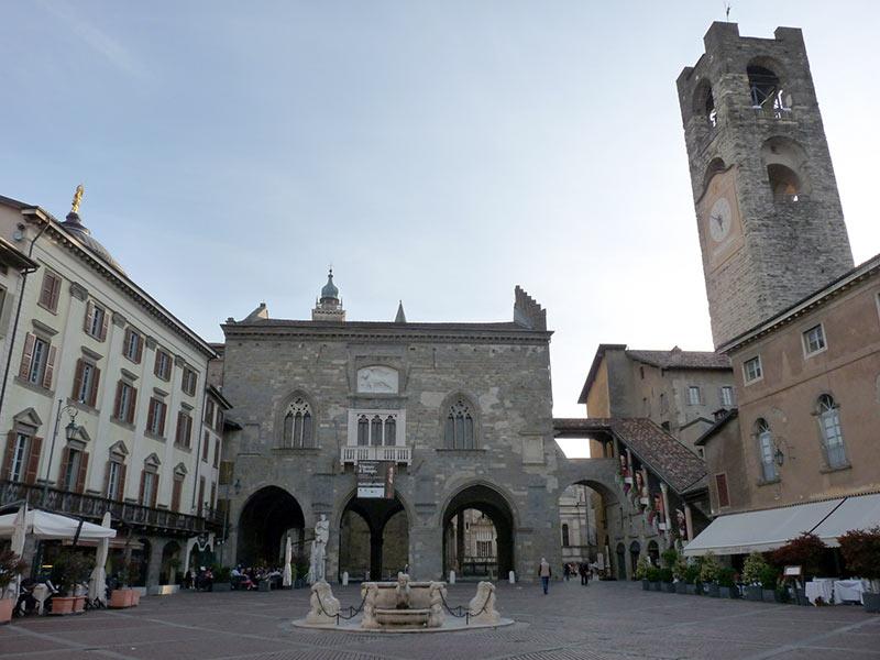 Piazza Citta Alta, Bergamo
