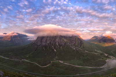 Glencoe West Highland Way, Scozia