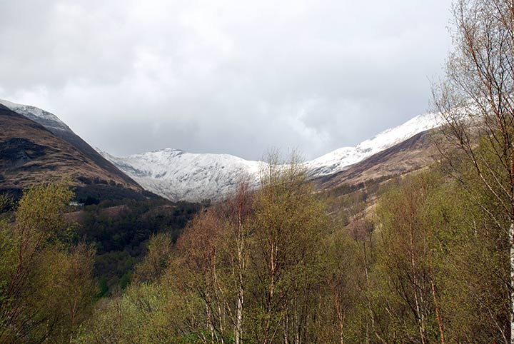 Mamores, West Highland Way, Scozia