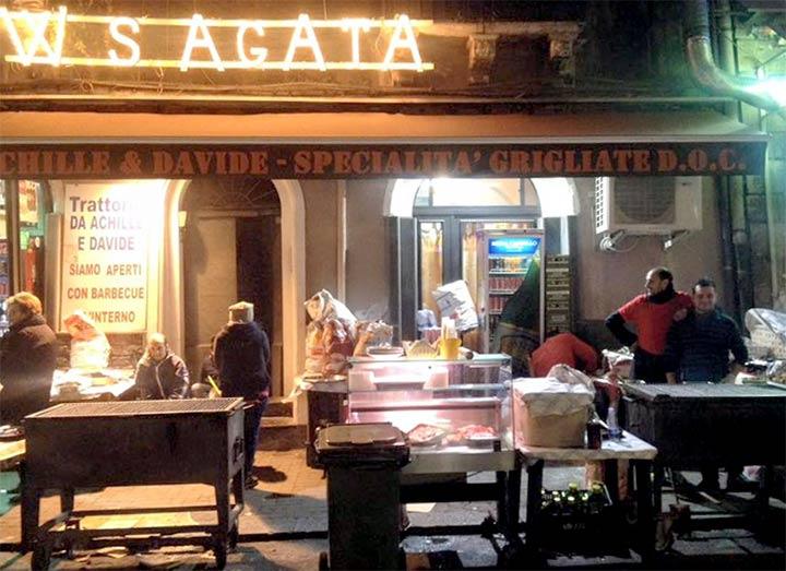 Da Achille e Davide, Catania