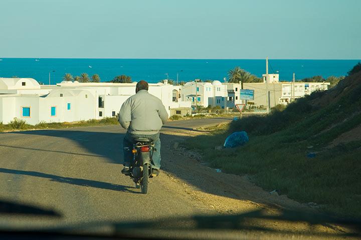 Isola di Djerba in inverno
