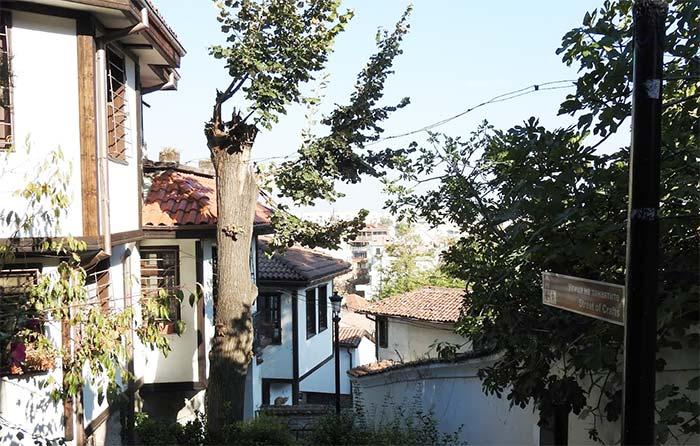 Plovdiv, città vecchia