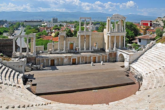 Plovdiv, Teatro Romano