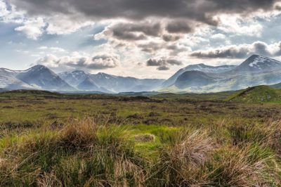 West Higland Way, Rannoch Moor