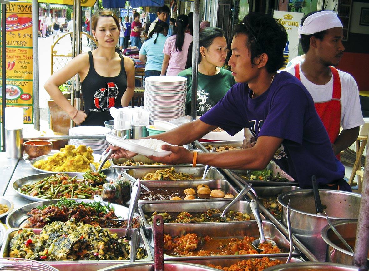 Mangiare a Bangkok