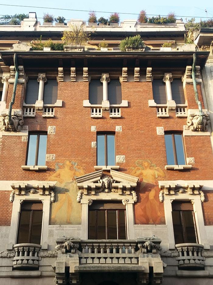 Milano, Casa Berri-Meregalli