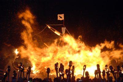 Shetland, Festival del Fuoco