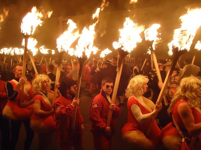 Festival fuoco Shetland