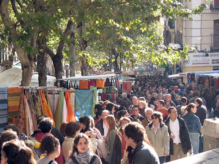 Rastro, Madrid