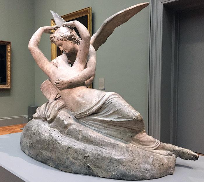 Canova, Amore e Psiche - Metropolitan Museum